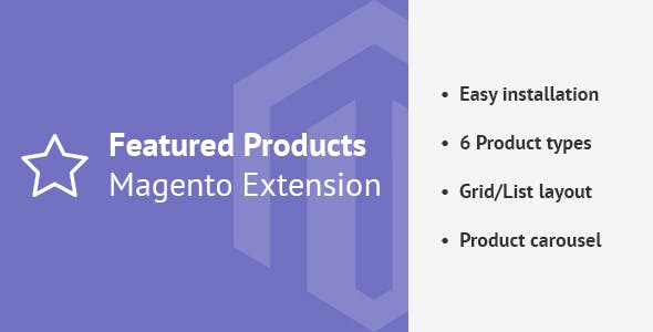 Featured Products Magento 2 Extension