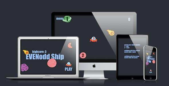 Math Game: Even Odd Ship