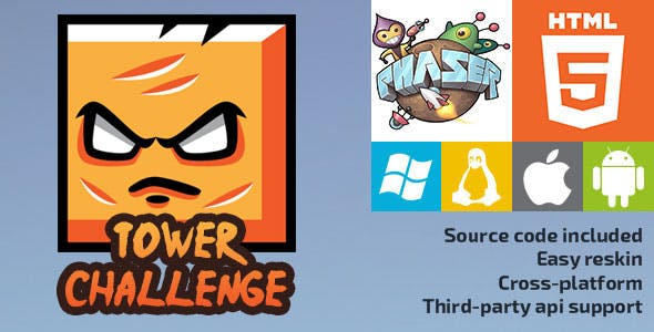 Tower Challenge - HTML5 Game - Phaser