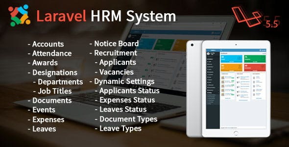 Laravel Human Resource Management System