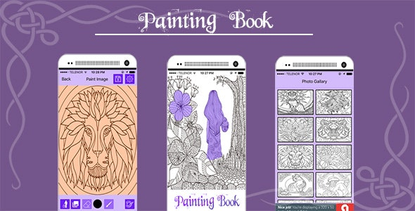 Painting Book - CodeCanyon Item for Sale