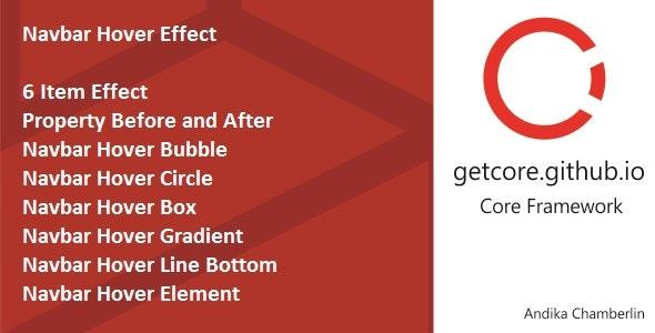 Navbar Hover Effect - CodeCanyon Item for Sale