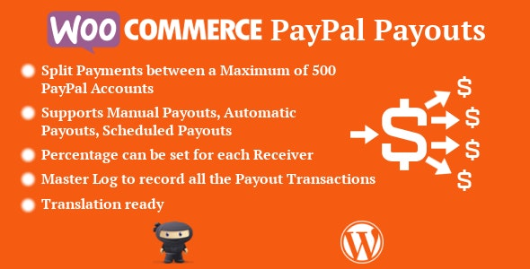 WooCommerce PayPal Payouts by FantasticPlugins | CodeCanyon