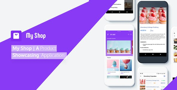 My Shop | A Product Showcasing Application based on WooCommerce with Push Notification