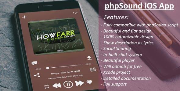 phpSound iOS App