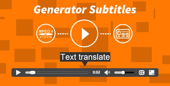 Generator Subtitles by Redacktor | CodeCanyon