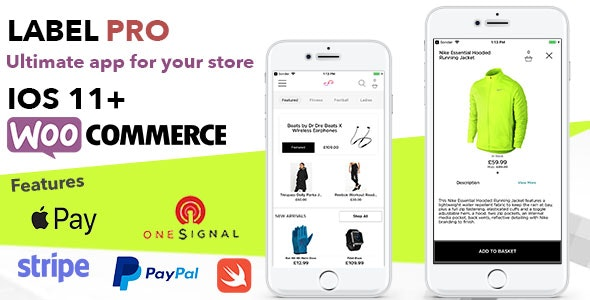 Store App For Woocommerce Shops and Ecommerce Sites - Label