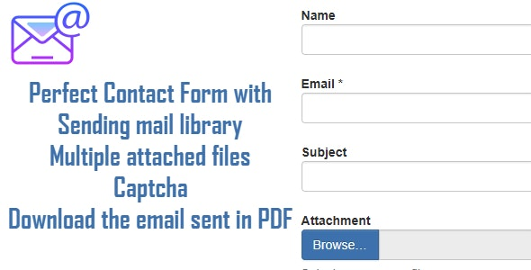 contact form download