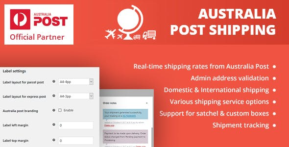 WooCommerce Australia Post Shipping