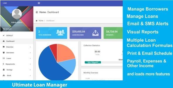 Ultimate Loan Manager - CodeCanyon Item for Sale