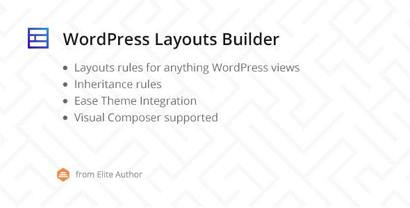 WordPress Layouts Builder