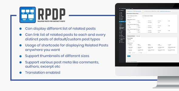 Related Posts for Distinct Posts - CodeCanyon Item for Sale