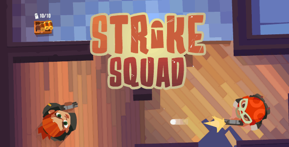 Strike Squad - HTML5 Game (CAPX)