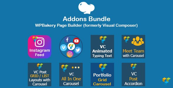 Addons Bundle for WPBakery Page Builder (formerly Visual Composer)