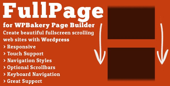 FullPage for WPBakery Page Builder        Nulled