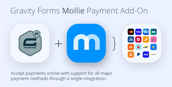 Gravity Forms Mollie Payment Add-On - CodeCanyon Item for Sale