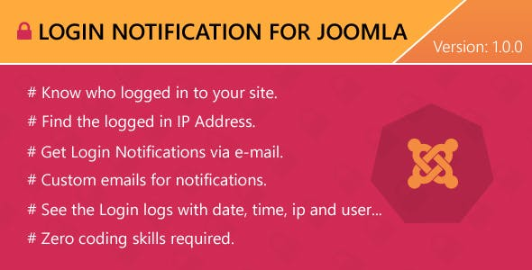 Login Notification for Joomla