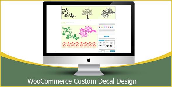 WooCommerce Custom Decal Design