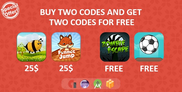Mega Sale Bundle Games - Android + Buildbox by zahragames | CodeCanyon