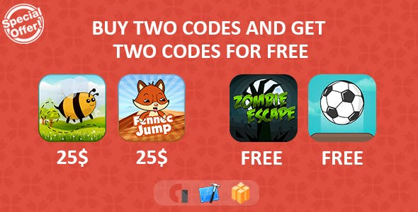 Mega Sale Bundle Games - iOS Xcode + Buildbox
