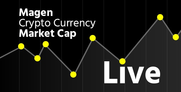 Magen Crypto Currency Realtime Live Market Cap With Multi Currencies Supported - CodeCanyon Item for Sale
