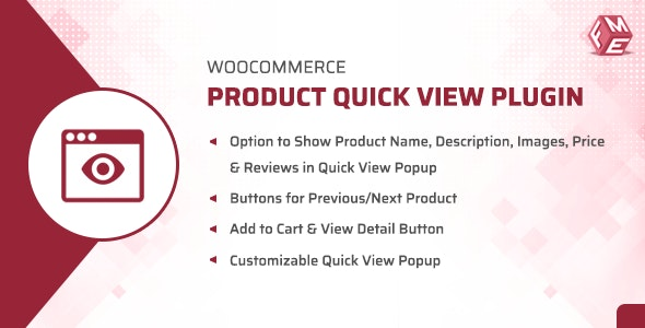 WooCommerce Product Quick View Plugin - CodeCanyon Item for Sale