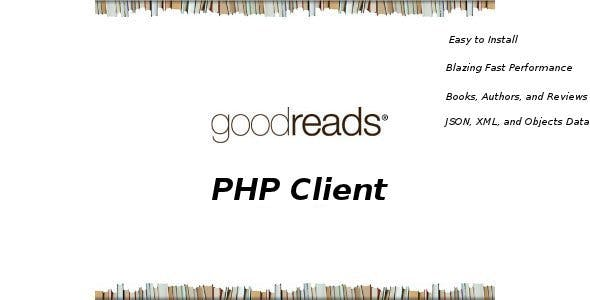 Good Reads PHP Client