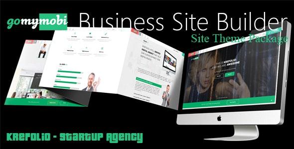 gomymobiBSB's Site Theme: KreFolio - Startup Agency - CodeCanyon Item for Sale