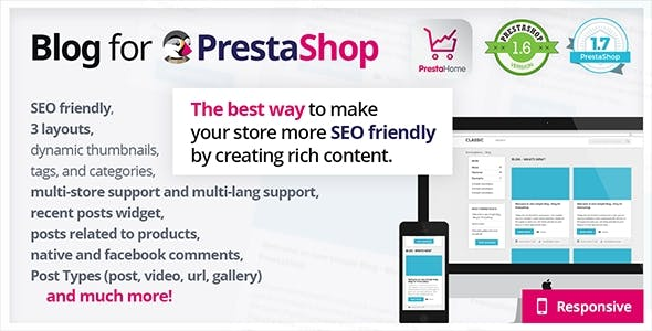 Blog for PrestaShop        Nulled