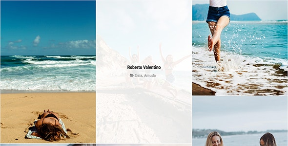 Amuda - Fashion Gallery for TZ Portfolio - CodeCanyon Item for Sale