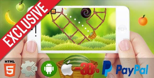 Mortar Watermelon - HTML5 Mobile Game (Capx)
