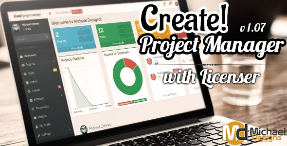 Create - Freelancer Project Manager with Licenser - CodeCanyon Item for Sale