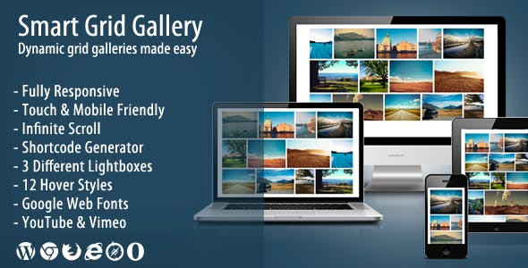 Smart Grid Gallery - Responsive WordPress Gallery Plugin        Nulled