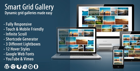 Smart Grid Gallery - Responsive WordPress Gallery Plugin by