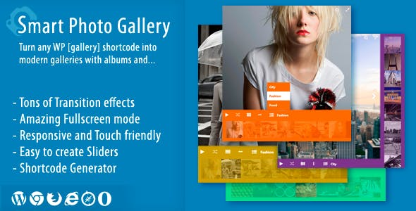 Smart Photo Gallery - Responsive WordPress Plugin