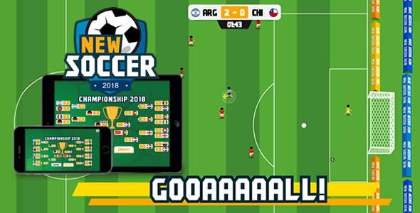New Soccer - HTML5 Game
