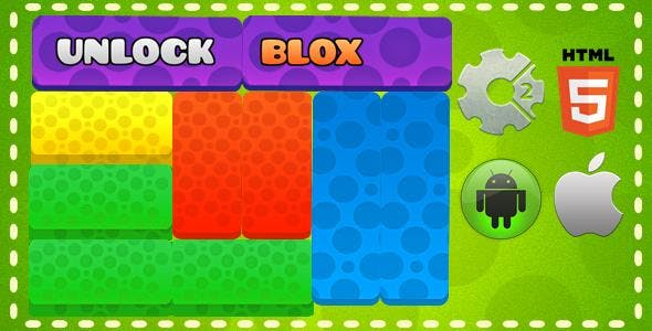 Unlock Blox - HTML5 Mobile Game (Capx)