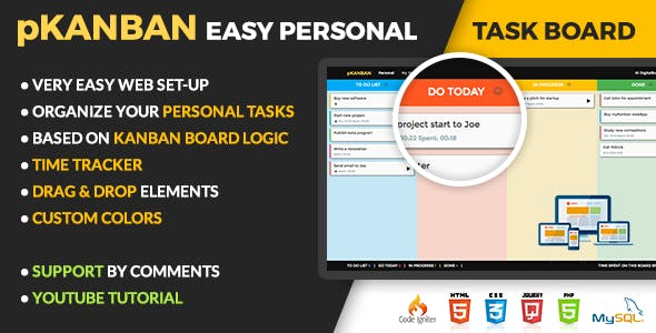 Kanban Plugins, Code & Scripts from CodeCanyon