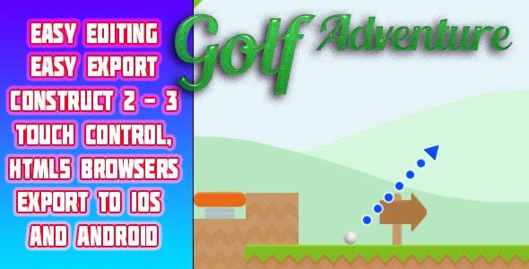 Golf Adventure - CodeCanyon Item for Sale