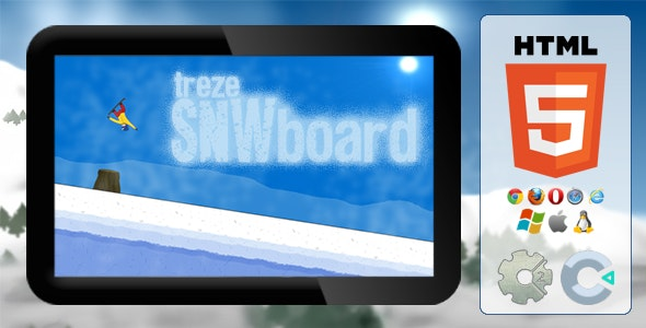 trezeSNWboard - HTML5 Action Game - CodeCanyon Item for Sale