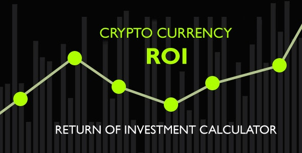 ROI.js - Return of Investment for Crypto-Currencies - CodeCanyon Item for Sale