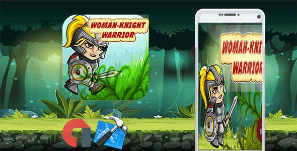 Wonder Warrior Fighting Woman + Admob + IOS Xcode Project