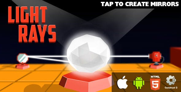 Light Rays - HTML5 Game (CAPX)