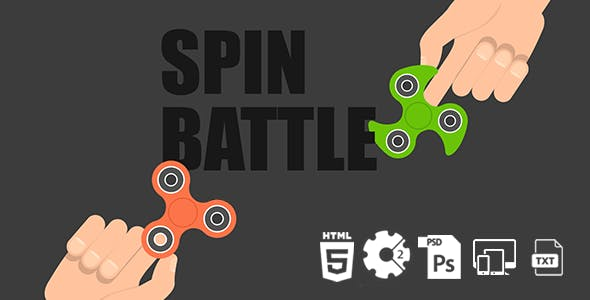 Spin Battle HTML5 Game