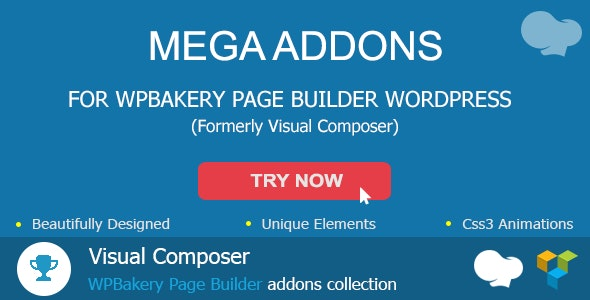 Mega Addons For WPBakery Page Builder (formerly Visual Composer) - CodeCanyon Item for Sale