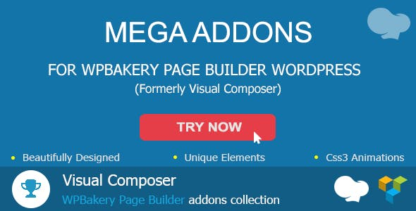 Mega Addons For WPBakery Page Builder (formerly Visual Composer)