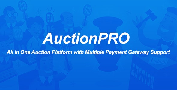 AuctionPRO - All in One Auction Platform - CodeCanyon Item for Sale
