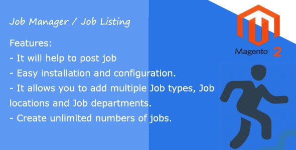 Open Jobs Manager Magento 2 extension - CodeCanyon Item for Sale