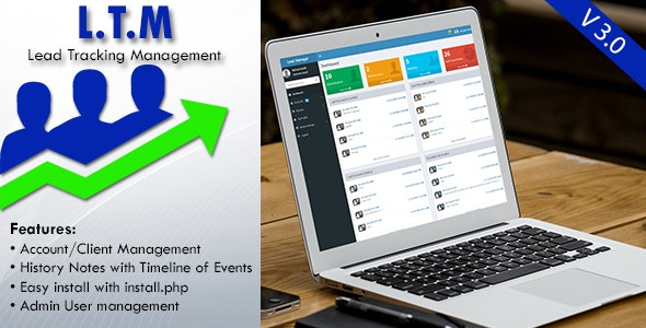 Lead Tracker Manager - CodeCanyon Item for Sale