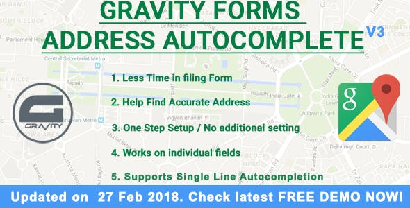 Gravity Forms Address Autocomplete        Nulled